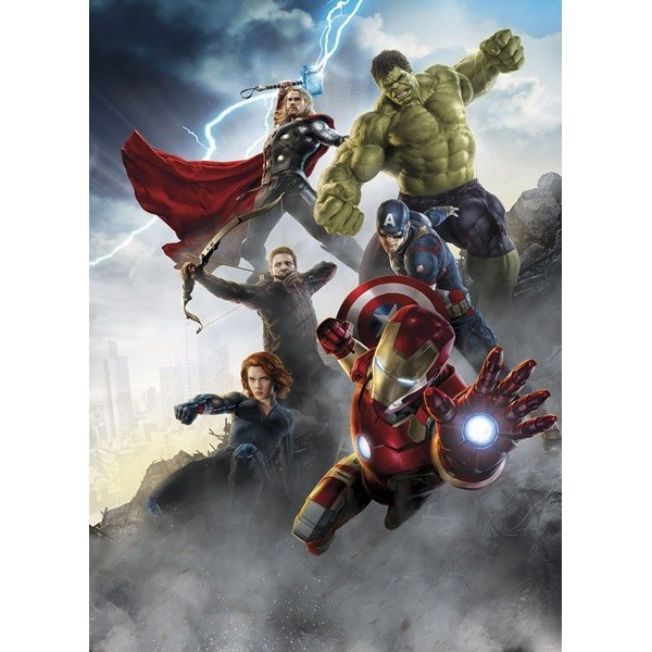 Fotomural Marvel AVENGERS AGE OF ULTRON 4-458