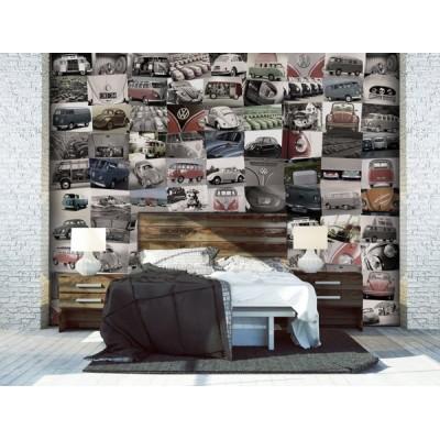 Fotomural Collage VOLKSWAGEN