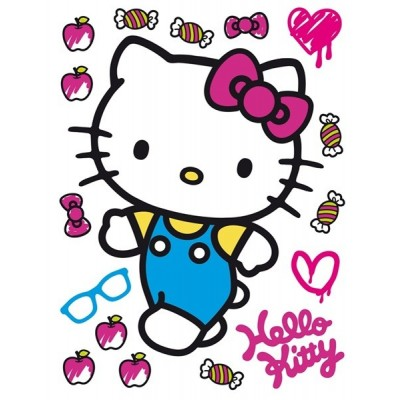 STICKER DISNEY HELLO KITTY DK-1780