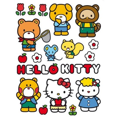 STICKER DISNEY HELLO KITTY DK-1781