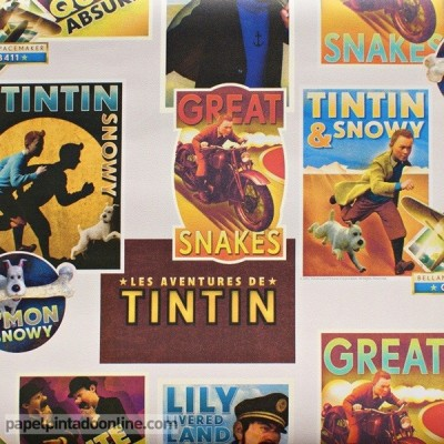 Paper pintat TINTIN 27120702