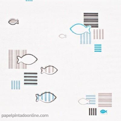 Paper pintat A LA MAISON 6877-08
