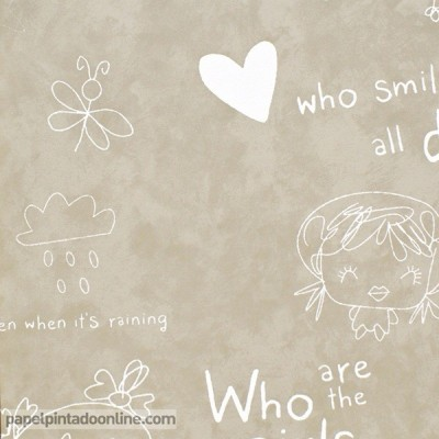 Papel de parede COZZ SMILE 61169-00