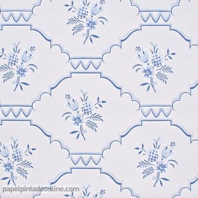 Papel de parede AZULEJOS 5129-2