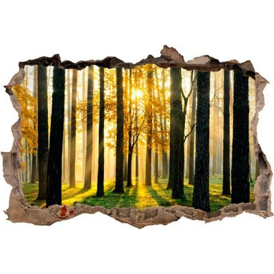 Vinil Decorativo 3D FLORESTA V3DA001