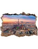 Vinilo Decorativo 3D TORRE EIFFEL V3DA011