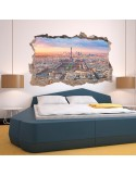 Vinil Decoratiu 3D TORRE EIFFEL V3DA011
