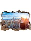 Vinilo Decorativo 3D RASCACIELOS NUEVA YORK V3DA012