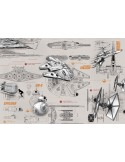Fotomural STAR WARS BLUEPRINTS 8-493