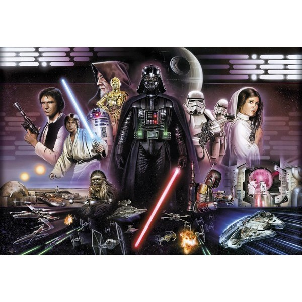 Fotomural STAR WARS DARTH VADER COLLAGE 8-482
