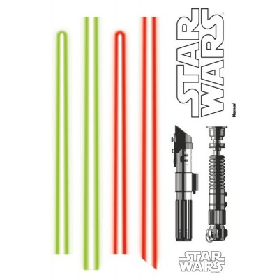 STICKER STAR WARS LIGHTSABER 14020H