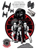 STICKER STAR WARS FIRST ORDER 14024H