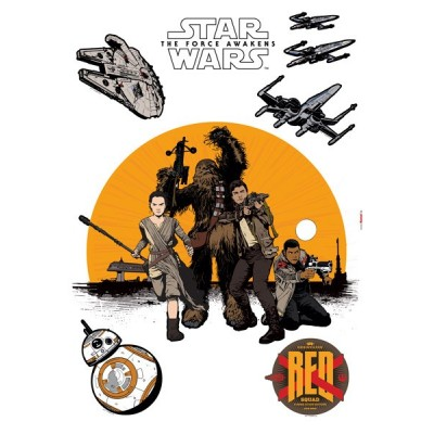 STICKER STAR WARS RESISTANCE 14025H