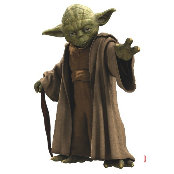 STICKER STAR WARS YODA 14721H