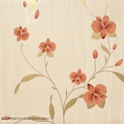 Papel pintado FLORES 9745-13