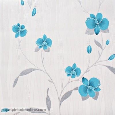 Papel de parede FLORES 9745-18