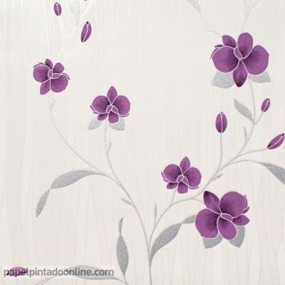 Papel de parede FLORES 9745-09
