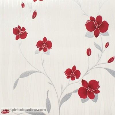 Papel de parede FLORES 9745-06