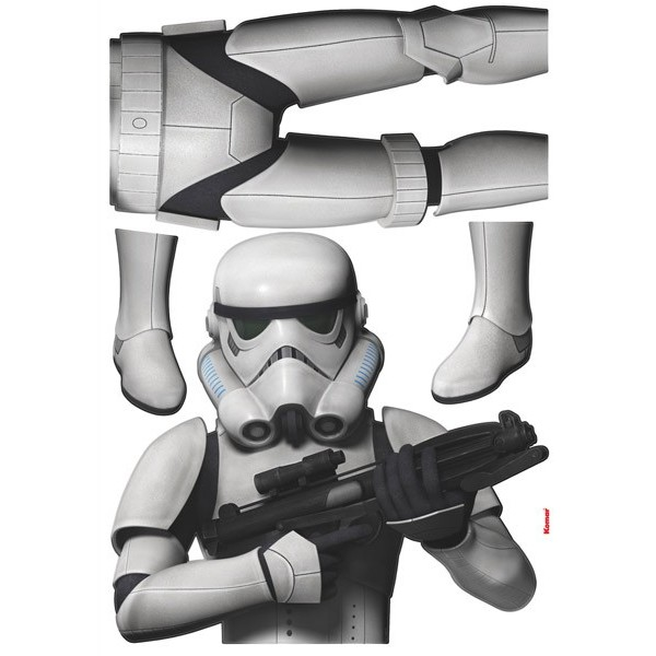 STICKER STAR WARS STORMTROOPER 14722H