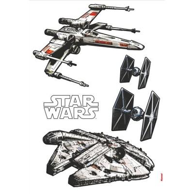 STICKER STAR WARS SPACESHIPS 14723H