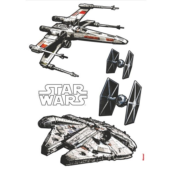 STICKER STAR WARS SPACESHIPS 14723H