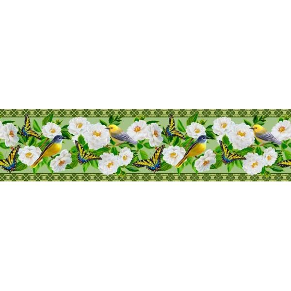 Sanefa Decorativa FLORAL CEF024
