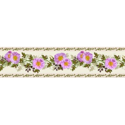 Sanefa Decorativa FLORAL CEF023