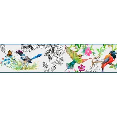 Faixa Decorativa FLORAL CEF022