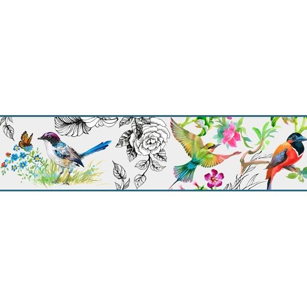 Sanefa Decorativa FLORAL CEF022