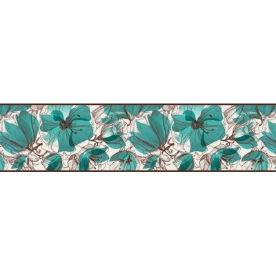 Sanefa Decorativa FLORAL CEF020