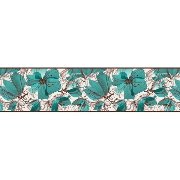 Faixa Decorativa FLORAL CEF020