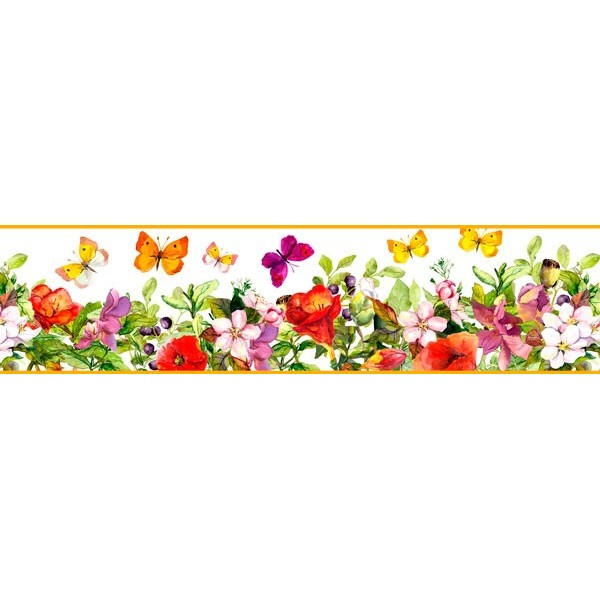 Faixa Decorativa FLORAL CEF019
