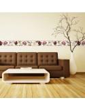 Sanefa Decorativa FLORAL CEF018