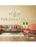 Sanefa Decorativa FLORAL CEF017