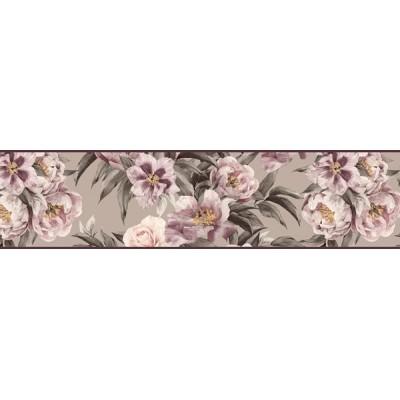 Sanefa Decorativa FLORAL CEF016