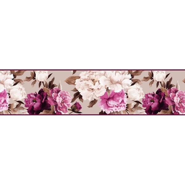 Sanefa Decorativa FLORAL CEF015