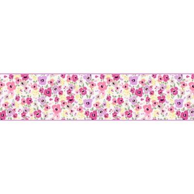 Sanefa Decorativa FLORAL CEF013