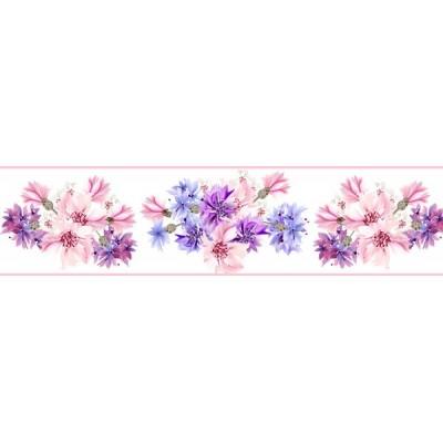 Sanefa Decorativa FLORAL CEF012