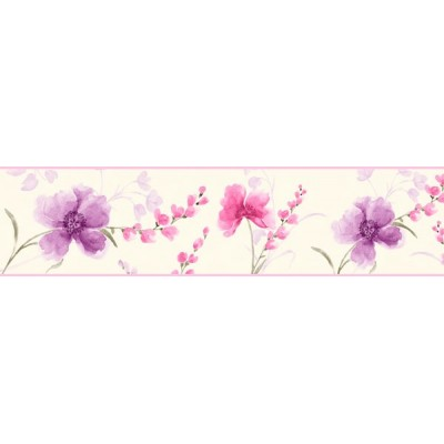Faixa Decorativa FLORAL CEF011