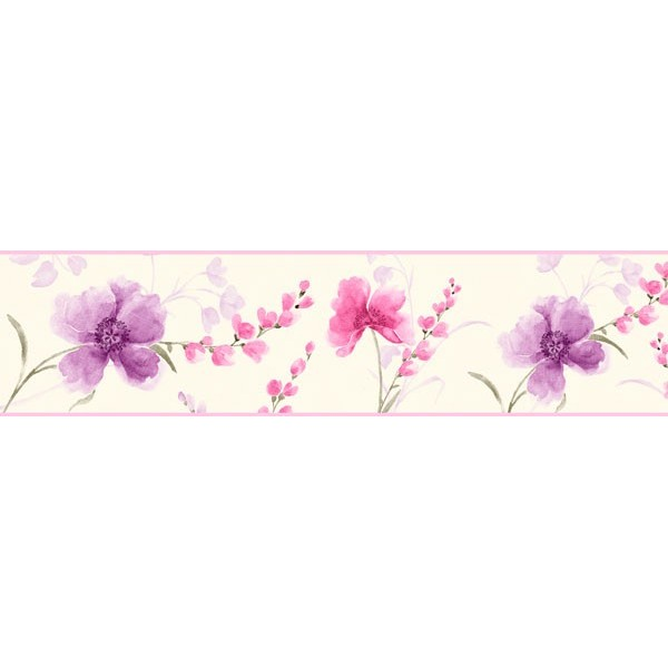 Cenefa Decorativa FLORAL CEF011