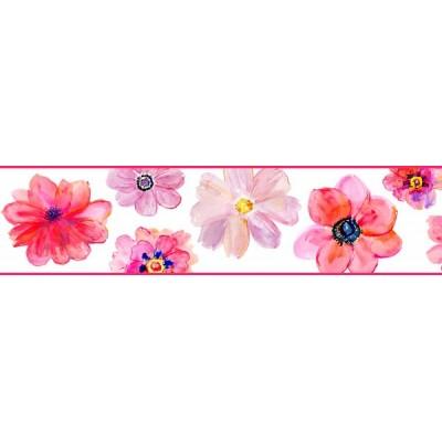 Sanefa Decorativa FLORAL CEF008