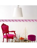 Sanefa Decorativa FLORAL CEF007