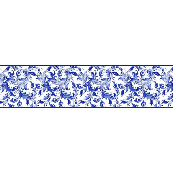 Faixa Decorativa FLORAL CEF006