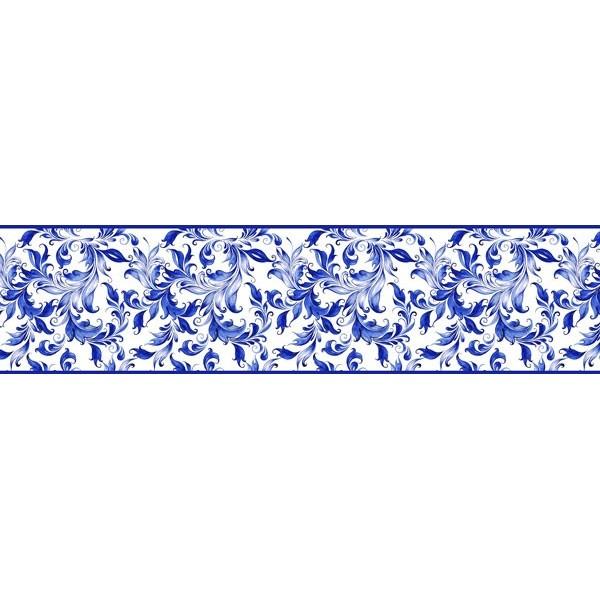 Sanefa Decorativa FLORAL CEF006