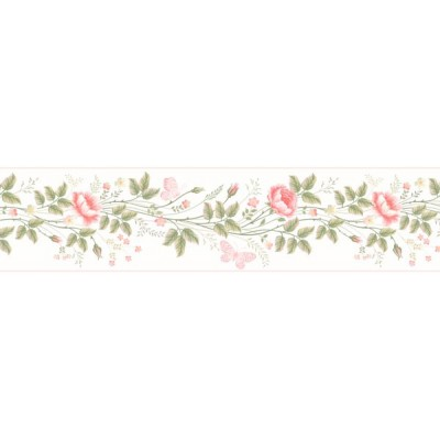 Sanefa Decorativa FLORAL CEF001