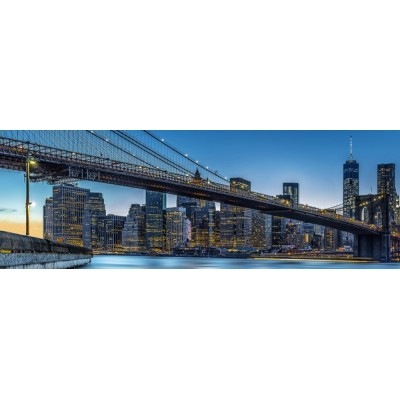 Fotomural BLUE HOUR OVER NEW YORK