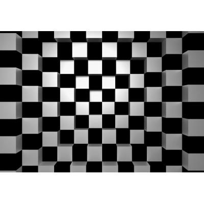 Fotomural BLACK AND WHITE SQUARES