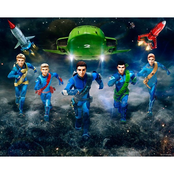 Fotomural Infantil THUNDERBIRDS ARE GO