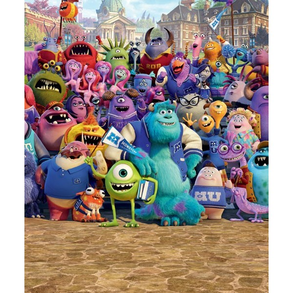 Fotomural Infantil DISNEY MONSTERS UNIVERSITY