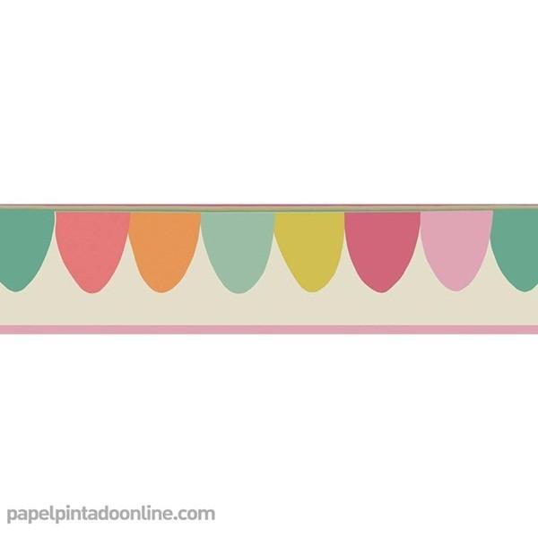 Sanefa Paper pintat WHIMSICAL 103-8029